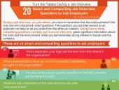 20 Smart and Compelling Questions to Ask Interviewers (Infographic)