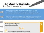The Agility Agenda for Procurement [Infographic]