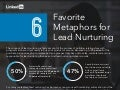6 favorite metaphors for leading nurturing