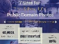7 Sites for Free & Beautiful Public Domain Photos