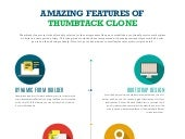 Amazing features of thumbtack clone