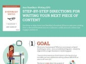 The Step-by-Step Guide to Creating Your Next Piece of Content
