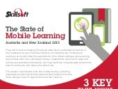 The State of Mobile Learning - Australia and New Zealand 2015