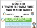 Effective Pro-Active Brand Engagement on Twitter