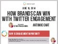 How Brands Can Win With Twitter Engagement