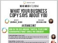 #AtomicChat What Your Business Copy Says About You
