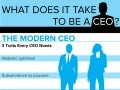 Do You Have What It Takes to Be CEO?