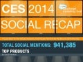 Final Social Media Tracking Report for CES 2014