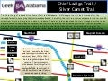 Chief Ladiga Trail / Silver Comet Trail Infographic
