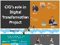 Infographic: CIO's role in digital transformation project