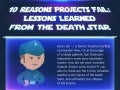 10 Reasons the Death Star Failed: Project Management Lessons Learned