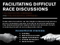 Facilitating Difficult Race Discussions