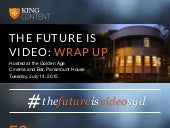 The Future is Video