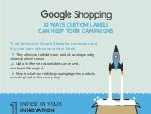 [Infographic] Google Shopping Custom Labels: 10 ways to optimise your campaigns