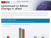 Growth Crossings: Africa's Role Investment in African Infographics