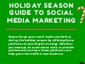 The Official Holiday Season Guide to Social Media Marketing