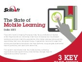 The State of Mobile Learning - India 2015