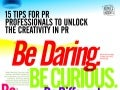 Infographic - 15 Tips to Unlock the Creativity in PR