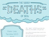 "Infographic: The Many ""Deaths"" of SEOs"