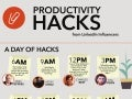 Productivity Hacks from LinkedIn Influencers