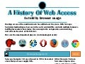 [Infographic] Web Access According to Browser Market Share - A History