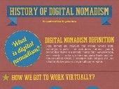 The History of Digital Nomadis