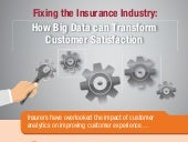 INFOGRAPHIC: Fixing the Insurance Industry - how big data can transform customer satisfaction