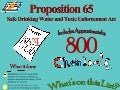 Proposition 65 and How it Affects YOU [Infographic]