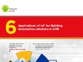 6 Applications of IoT for Building Automation Solutions