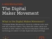 Infographic: Digital Maker Movement