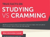 Studying vs. Cramming: The Facts