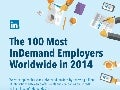 The Most InDemand Employers Worldwide 2014 | INFOGRAPHIC