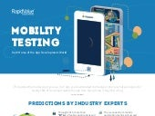 Mobile Testing - Infographic by RapidValue Solutions