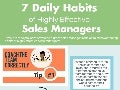 SalesDrive:  7 Daily Habits of Highly Effective Sales Managers