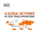 SGS Seed and Crop Services from a Global Network