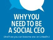 Why You Need to Be A Social CEO