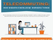 Telecommuting Infographic: How Mode...