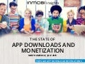 The State of App Downloads and Monetization Infographic : North America Q2 2015
