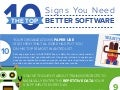 Top 10 Signs You Need Better Software