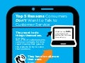 Top 5 Reasons Consumers Don't Want to Talk to Customer Service