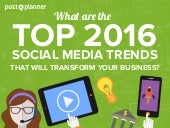 6 Top Social Media Trends That Will Transform Your Business in 2016