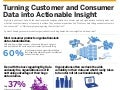 Turning Customer and Consumer Data into Actionable Insight Infographic