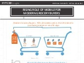 Infographic - UK Retail - Rising Role Of Mobile For Modern Grocery Buyers