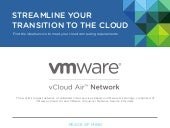 vCloud Air Network Has Arrived
