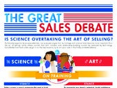 The Great Sales Debate Infographic