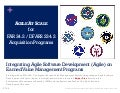 Executive Overview of Managing Agile Programs with Earned Value