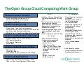 The Open Group Cloud Computing Work Group