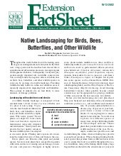 Native Landscaping for Birds, Bees,...