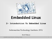 Building Embedded Linux Systems Int...