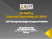 Xu hướng Internet Marketing 2010
